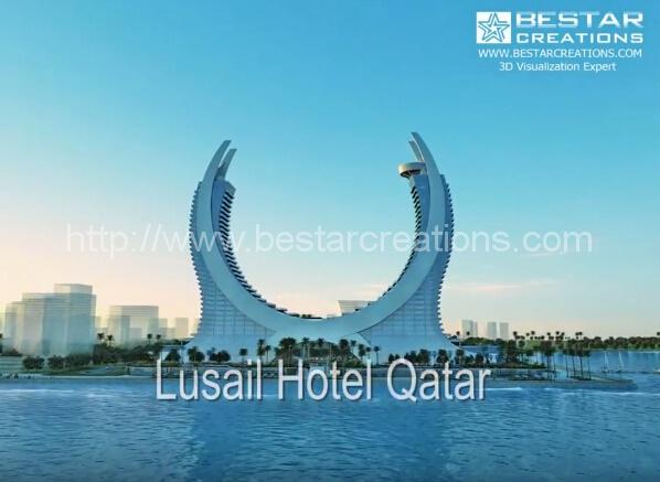 路萨尔全新的标志性酒店,卡塔尔