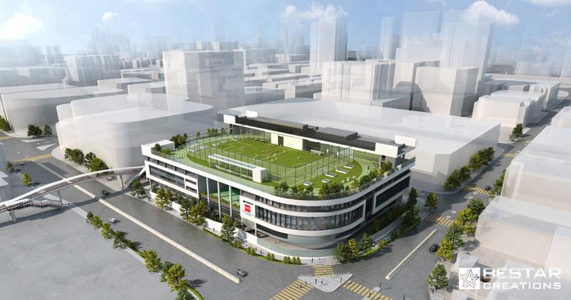 Kellet-New Campus at Kowloon Bay, HongKong