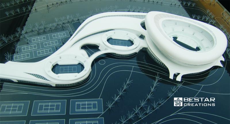 Harbin Industry College Tennis Court